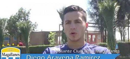 Entrevista a Diego Aravena, jugador de Club Deportivo Magallanes