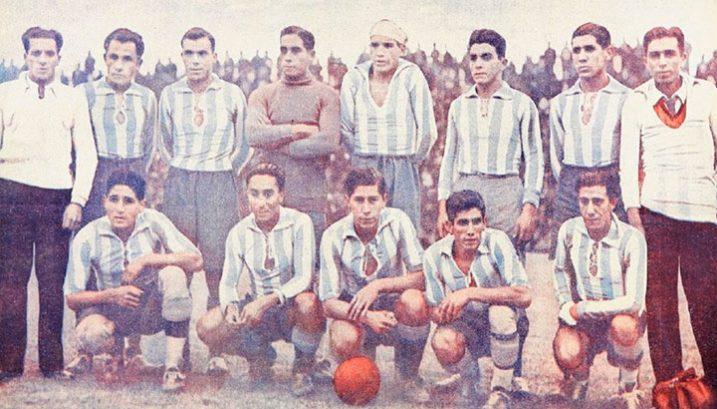 Campeón en 1934 y 1935