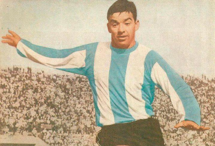 El goleador Luis Hernán Álvarez