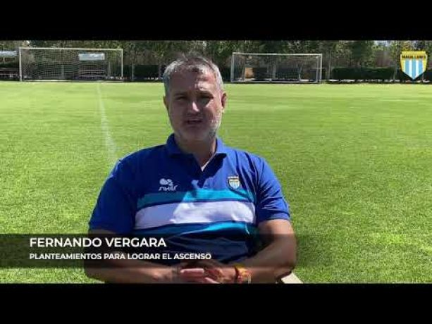 Fernando Vergara: «Las posibilidades -de ascender- siguen intactas».
